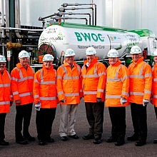 Inter Pipeline Fund Directors' team visits Simon's Immingham Terminals