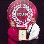 Simon's safety record wins RoSPA awards