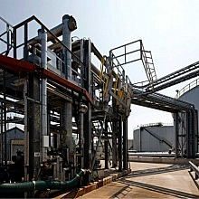 Sulphur loading gantry